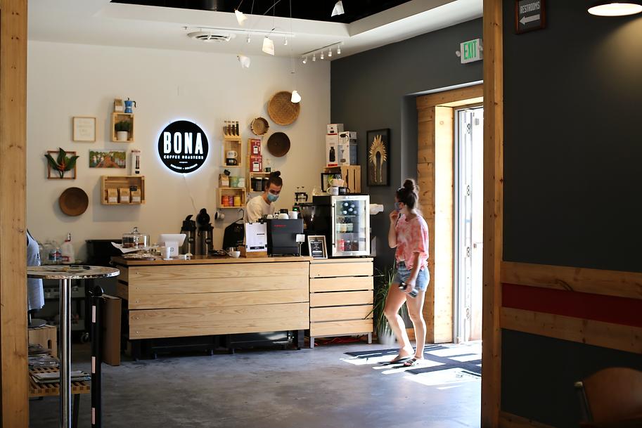 Bona Coffee Roasters Coffee Shop Boulder