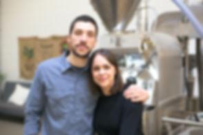 Andre and Vanessa Bona Coffee.jpg