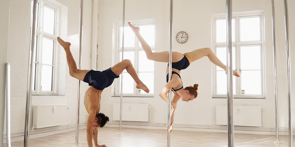 Contemporary Pole Art & Handstand Workshops at Adore Pole Fitness