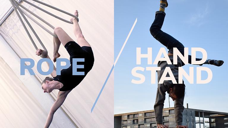 Aerial Rope & Handstand Workshop at AFUK