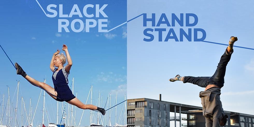 Slack Rope & Handstand Workshop at AFUK