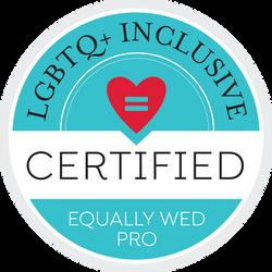 Equally Wed Badge