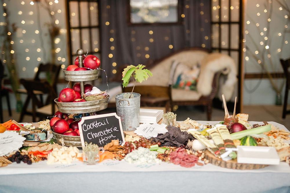 2021 2022 progressive dinner wedding reception