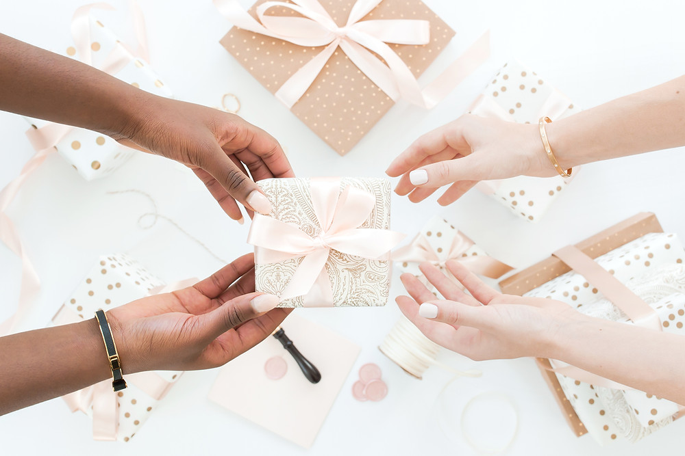 holiday party gift giving