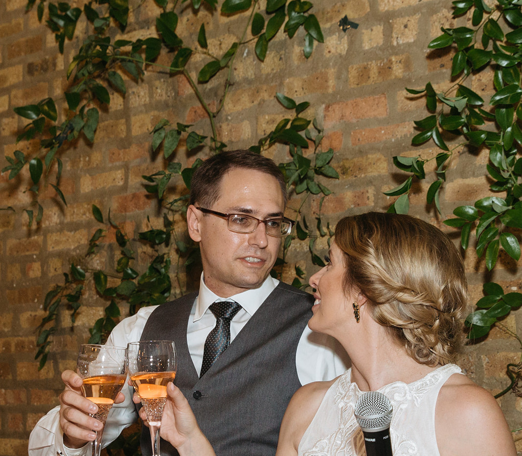 intimate wedding in Chicago by Chicago Wedding Planner