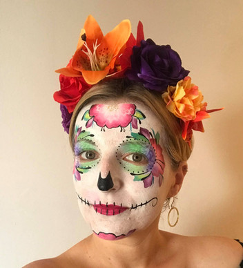 Appointments are available for more detailed face paints to make your fancy dress really impress!