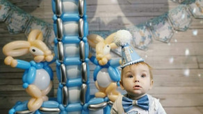Balloon numbers and birthday parties!