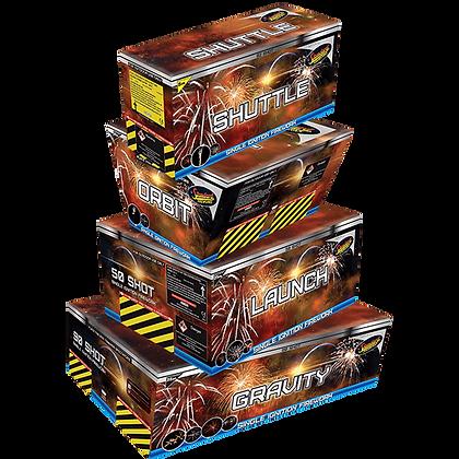Battle Star Quad Barrage Pack