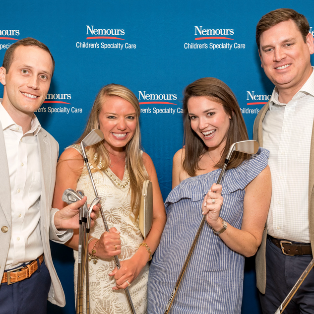 Nemours Children's Health System charity golf event