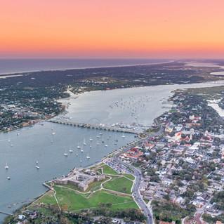 St. Augustine Aerial