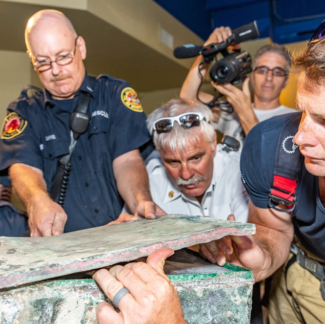 Memorial Park Association's Time Capsule Unveil
