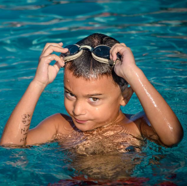 Gavin Swimming