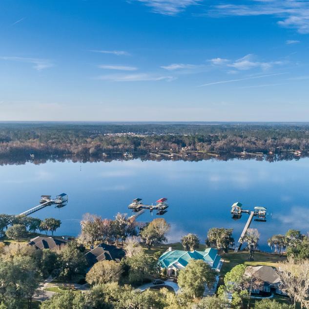 Aerial Drone Photography of Neighborhood