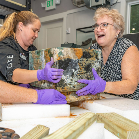 Unearthing the WWI Time Capsule at Memorial Park's 100th Anniversary Celebration
