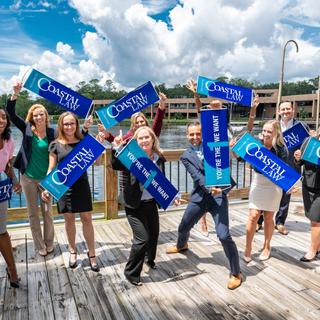 Florida Coastal School of Law enrollment photoshoot