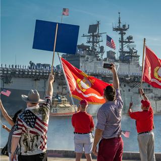 USS Iwo Jima Naval Homecoming to Mayport, FL - 2