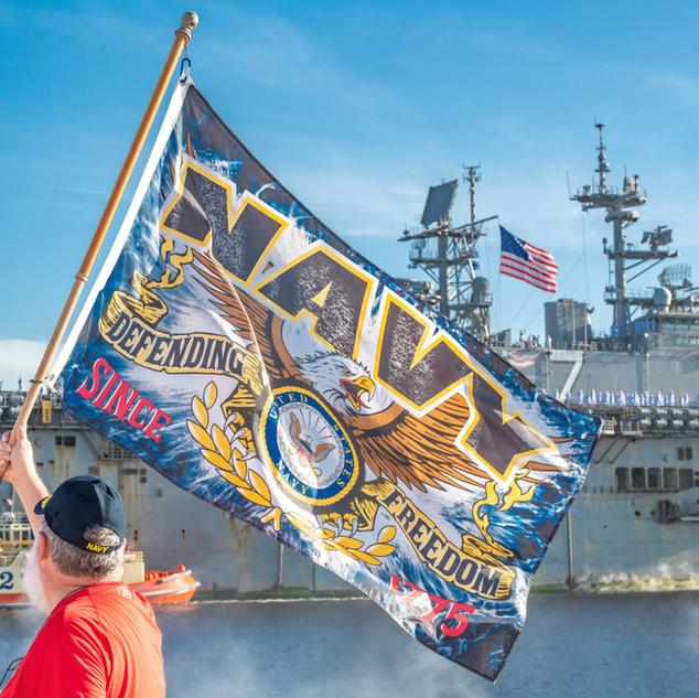 USS Iwo Jima Naval Homecoming to Mayport, FL - 1
