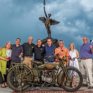 Harley Riders Celebration at Memorial Park