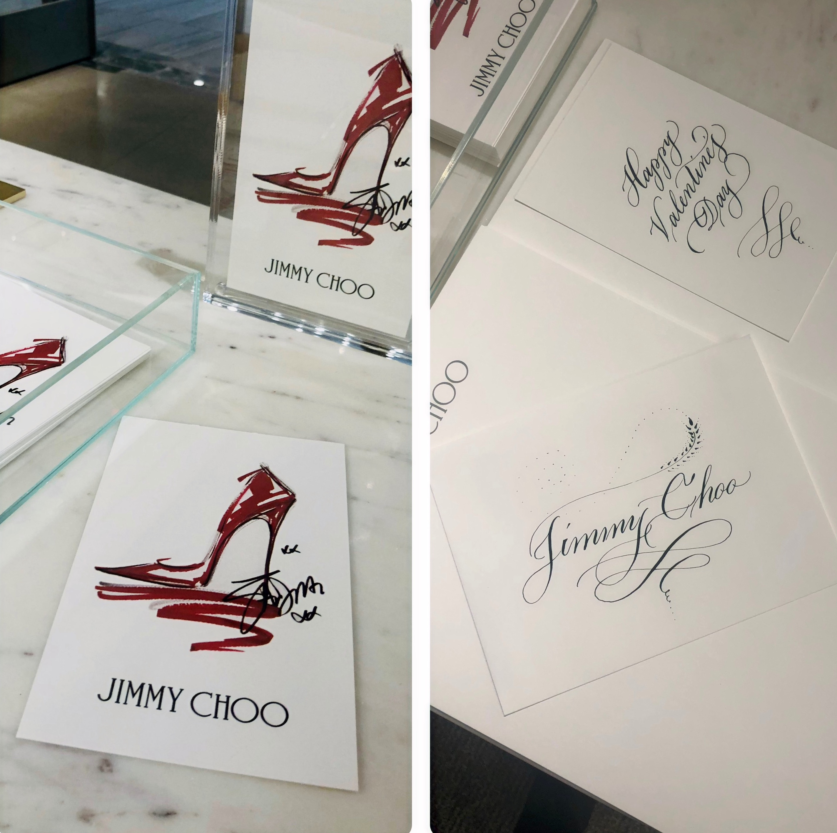 February 2021 Jimmy Choo In-Store event