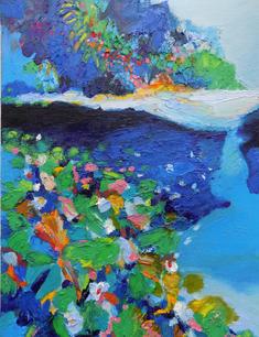 Stream of Azure Blue