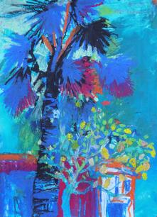 Dusk Palm