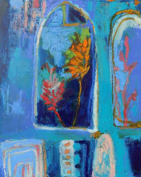 Blue Glasshouse