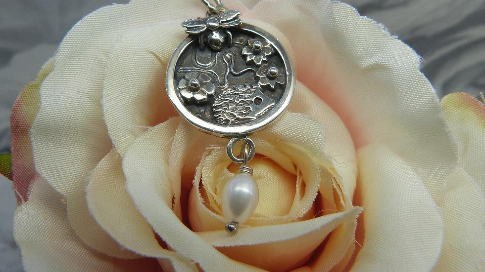 Silver Wildlife Necklace