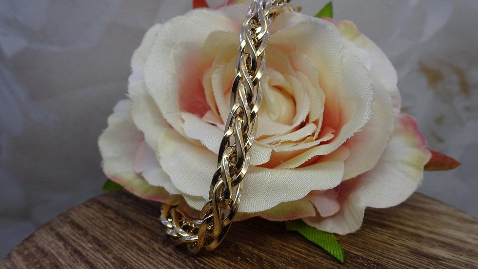 9ct Yellow Gold Fancy Link Bracelet