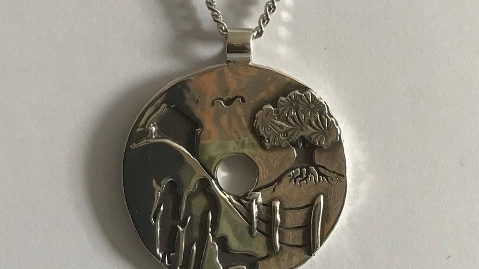 Silver Country Walk Necklace