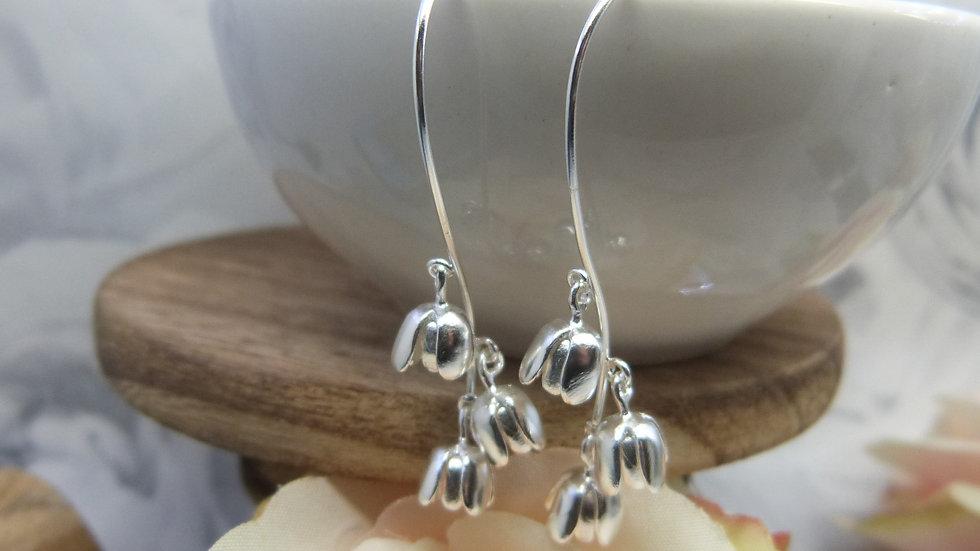 Silver Bluebell EArrings