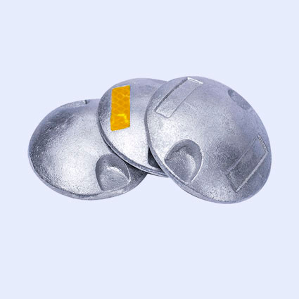 Botones de aluminio