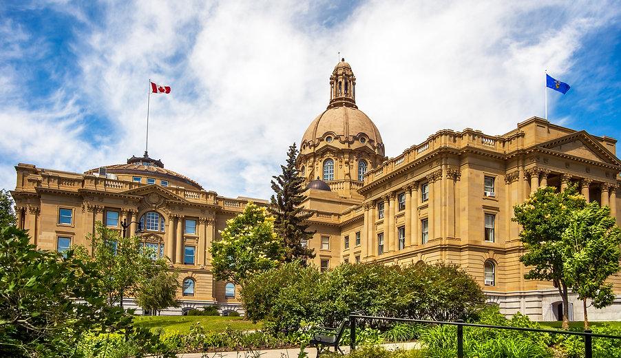 Alberta Legislature Building Edmonton Al