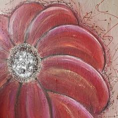 Red Flower & Swarovski - 250 euro