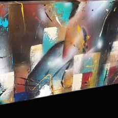 Canvas in opdracht - verkocht
