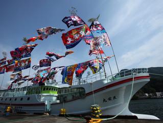 近海マグロ延縄船「良栄丸」第77回目 (2019年 第6回目)の操業を終え て、7月10日(水)に水揚げを行います。