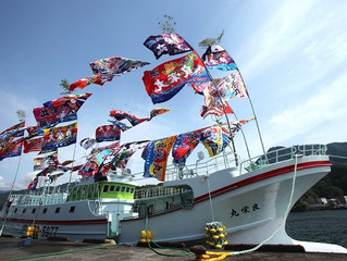 近海マグロ延縄船「良栄丸」は、第98回目(2021年第5回目)の操業を終えて、4月7日に水揚げを行います!!