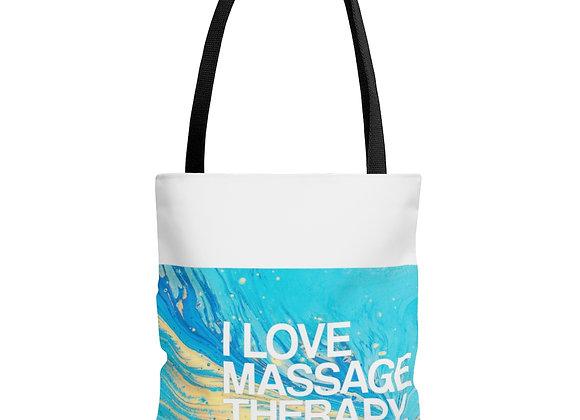 I love massage therapy Tote Bag
