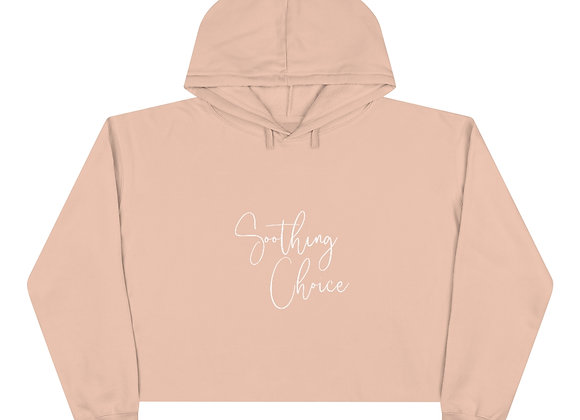 Lounge collection - Crop Hoodie