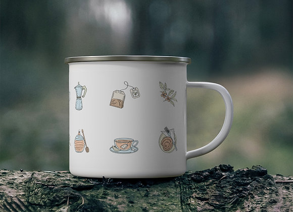 Tea cup collection - Camping Mug