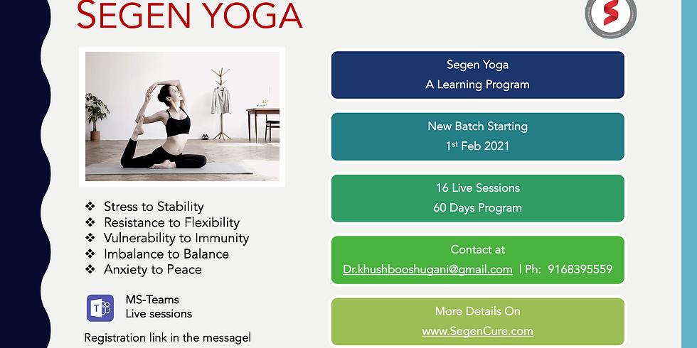 "SEGEN YOGA: ""Be Your Own Yoga Coach"""