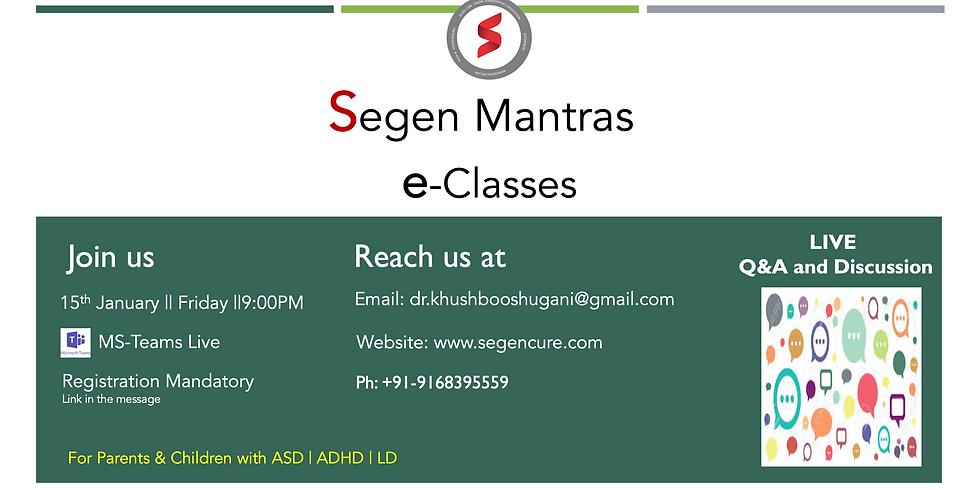 SEGEN: e-Classes for Parents & Children