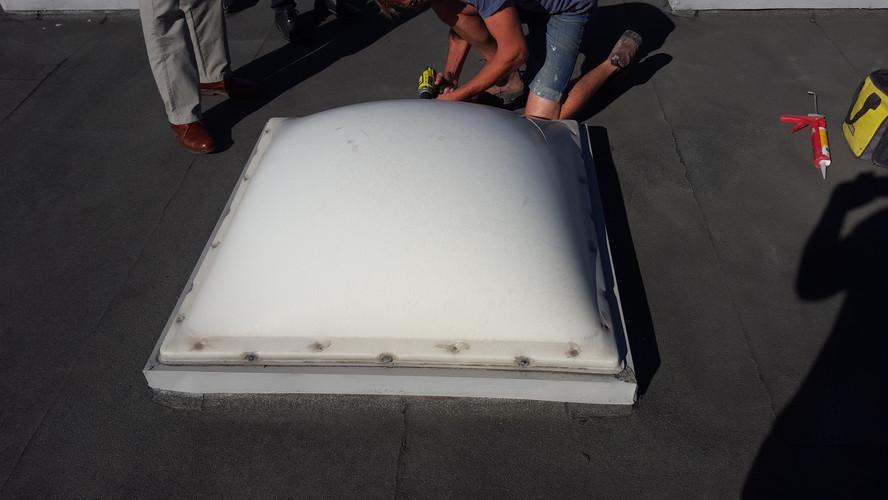 Leaking Acrylic Dome