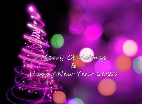 25-26/12 & 29/12-1/1 為本中心聖誕及新年假期