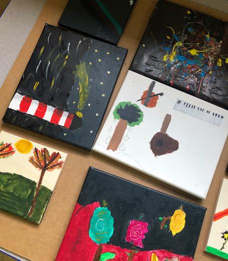 Week #4 Of Arts Hub: Art- Side The Lines