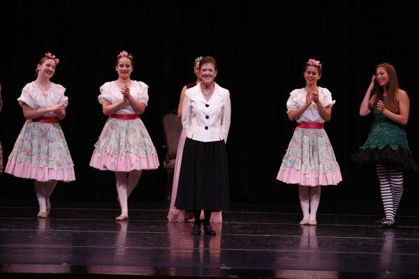 Miss Lisa at Spring Recital