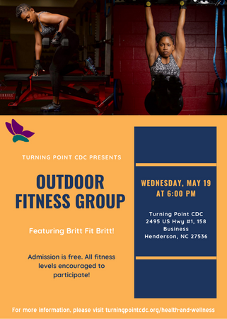 May 19 Outdoor Fitness Group Flyer (corr