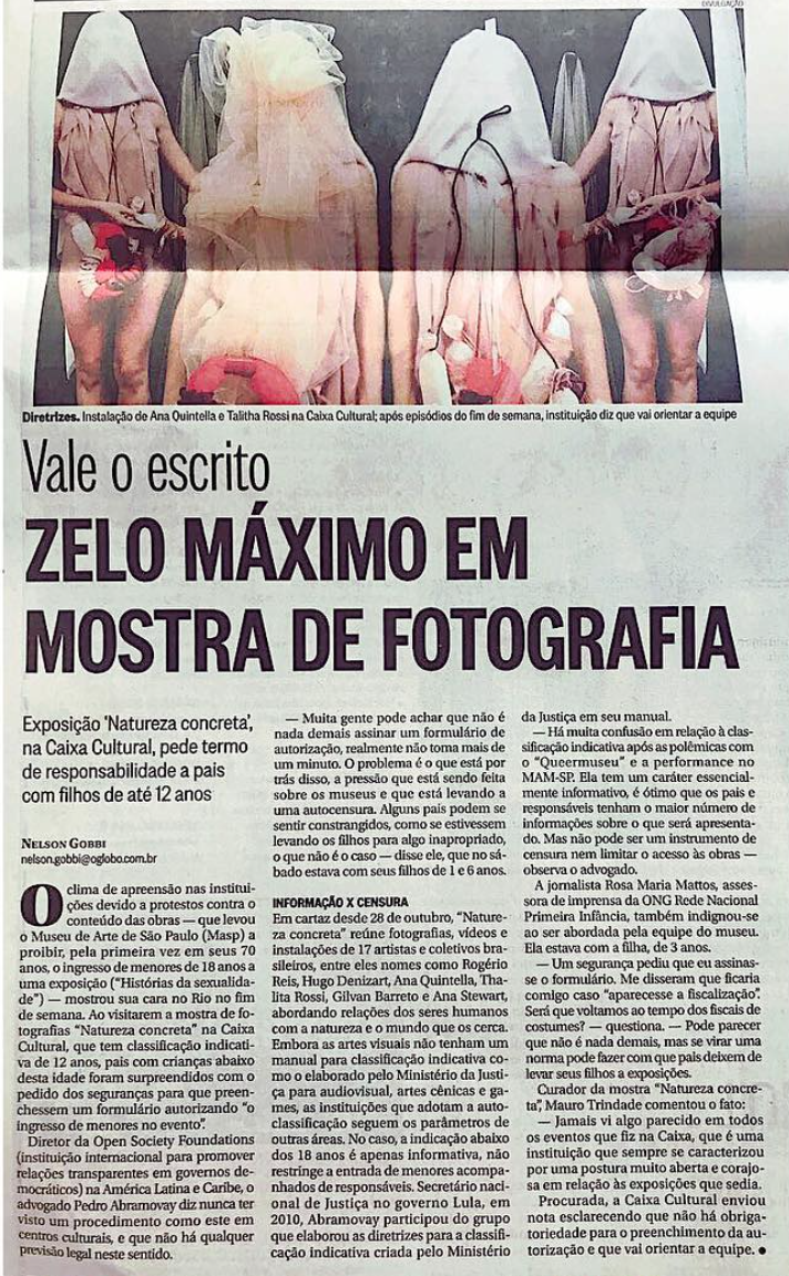 clipping 2017 talitha rossi o globo cens