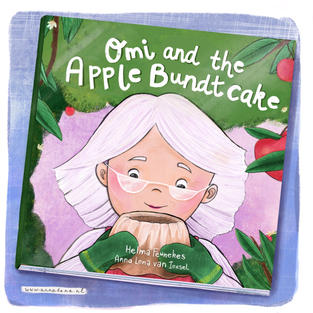Book cover for Omi and the Apple Bundtcake