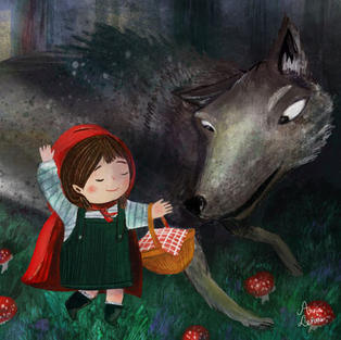 Little Red Riding Hood - Spread