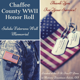 Chaffee County WWII Honor Roll_Salida Ve